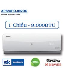 Điều hòa Sumikura APS/APO-092DC 9.000btu 1 chiều inverter
