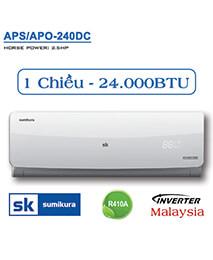 Điều hòa Sumikura APS/APO-240DC 24.000btu 1 chiều inverter