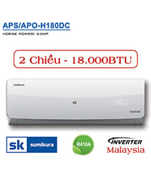 Điều hòa Sumikura APS/APO-H180DC 18.000btu 2 chiều inverter