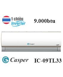 Điều Hòa Casper IC-09TL33 9.000btu 1 chiều Inverter