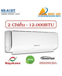 Điều hòa Nagakawa NS-A12IT 12.000btu 2 chiều INVERTER