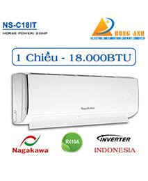 Điều hòa Nagakawa NS-C18IT 18.000btu 1 chiều INVERTER