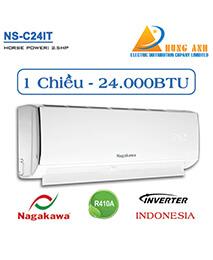 Điều hòa Nagakawa NS-C24IT 24.000btu 1 chiều INVERTER