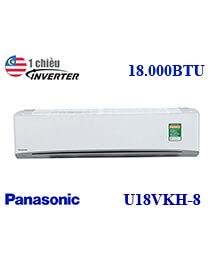 Điều hòa Panasonic CU/CS-U18VKH-8 18.000btu 1 chiều inverter gas 32