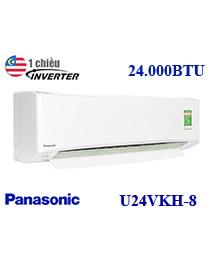 Điều hòa Panasonic CU/CS-U24VKH-8 24.000btu 1 chiều inverter