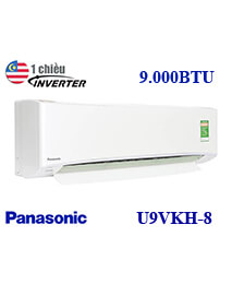 Điều hòa Panasonic CU/CS-U9VKH-8 9.000btu 1 chiều inverter