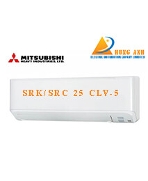 Điều hòa Mitsubishi SRK/SRC 25 CLV-5 24500BTU 1 chiều inverter