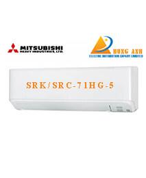 Điều hòa Mitsubishi SRK/SRC-71HG-5 24.000btu 2 chiều inverter