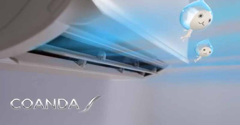 Điều hòa Daikin Inverter 2 chiều 24000 BTU FTHF71RVMV Luồng gió Coanda