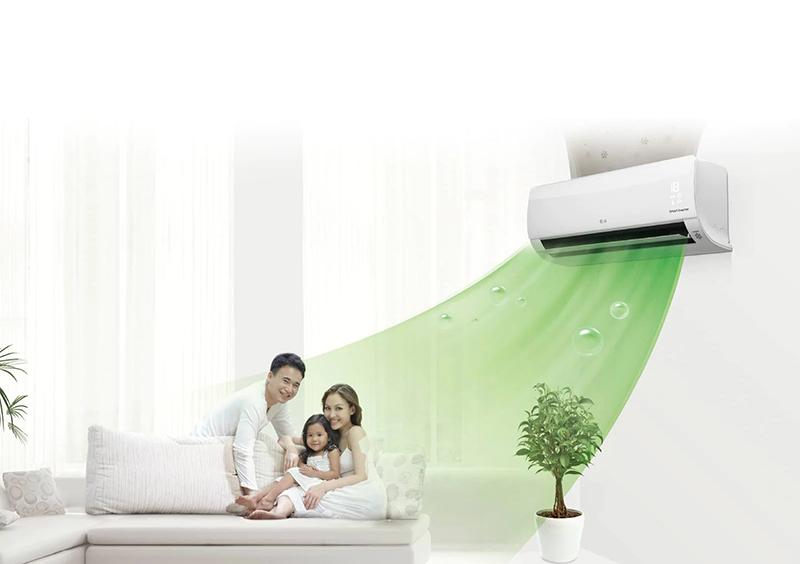 Điều Hoà LG Inverter 2 chiều 18000 BTU B18END Tiết kiệm năng lượng