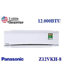 Điều hòa Panasonic CU/CS-Z12VKH-8 12.000BTU 2 chiều Inverter gas 32