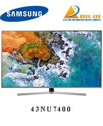 Smart Tivi Samsung 43 inch 43NU7400, 4K UHD, HDR