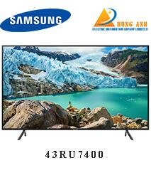 Smart Tivi Samsung 4K 43 inch 43RU7400 UHD