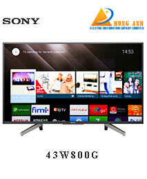 Smart Tivi Sony 43 inch 43W800G Full HD HDR, Android TV