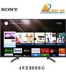 Smart Tivi Sony 49 inch 49X8000G, 4K Ultra HDR, Android TV