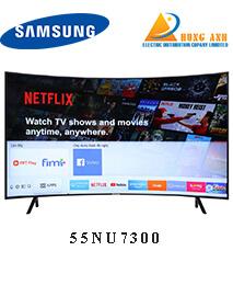 Smart Tivi Cong Samsung 55 inch 55NU7300, 4K UHD, HDR
