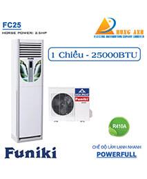 Điều hòa tủ đứng Funiki 25.000BTU 1 chiều FC25