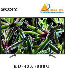 Smart Tivi Sony 43 inch KD-43X7000G 4K Ultra HD