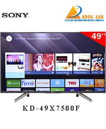 Smart Tivi Sony 4K HDR KD-49X7500F 49 inch 49X7500F Android