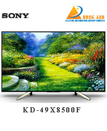 Smart Tivi Sony 49 inch KD-49X8500F, Android 7.0, 4K HDR, MXR 800