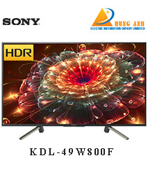 Smart Tivi Sony 49 inch KDL-49W800F, Android 7.0, HDR, MXR 200