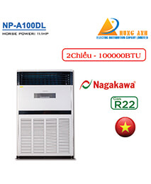 Điều hòa tủ đứng Nagakawa 2 chiều 100.000BTU NP-A100DL