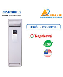 ĐIỀU HÒA TỦ NAGAKAWA 1 CHIỀU NP-C28DHS