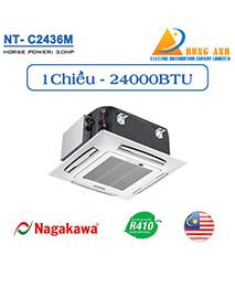 Điều hòa âm trần Nagakawa 1 chiều 24000Btu NT-C2436M