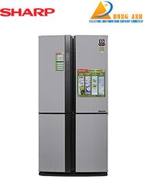 Tủ lạnh 4 cánh Sharp SJ-FX631V-SL 626 Lít, J-Tech Inverter