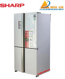 Tủ lạnh Sharp SJ-FX680V-WH – 678 Lít (Trắng)