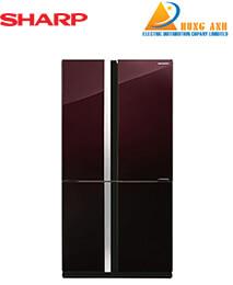 Tủ lạnh Sharp inverter 605 lít SJ-FX688VG-BR