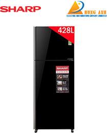 Tủ lạnh SHARP SJ-XP435PG-BK 428Lít Inverter