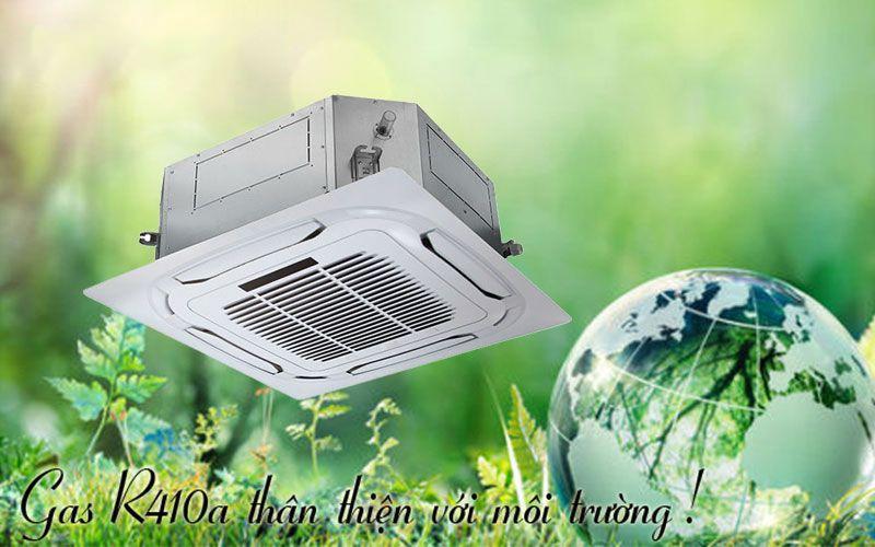 Sử dụng gas R410A là môi chất làm lạnh mới