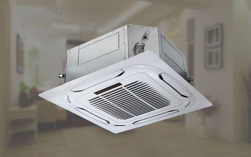 Máy lạnh âm trần Nagakawa 2 chiều 50000 BTU NT-A5036M trang bị đèn led hiển thị thông tin nhiệt độ và các thông tin về mã lỗi