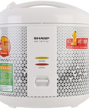 Nồi cơm điện 1.8 Lít Sharp KS-181TJV