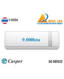 ĐIỀU HÒA 1 CHIỀU CASPER 9000 BTU SC09TL22