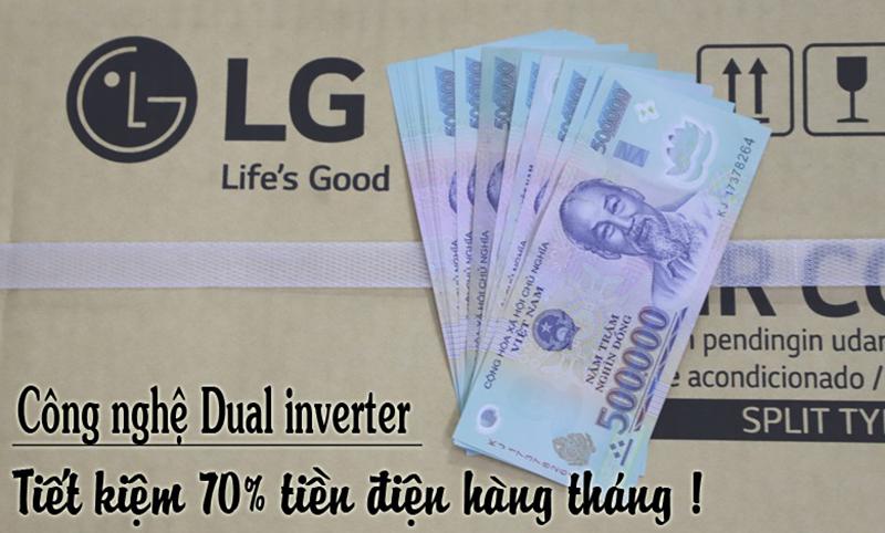 Điều hòa LG Inverter đỉnh cao tiết kiệm điện Điều hòa LG Inverter đỉnh cao tiết kiệm điện