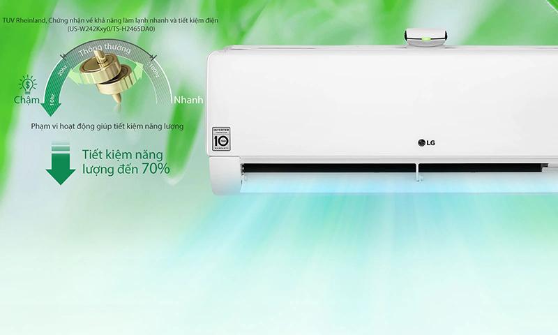 Điều hoà LG Inverter 2 Chiều 24000 BTU B13END Tiết kiệm năng lượng