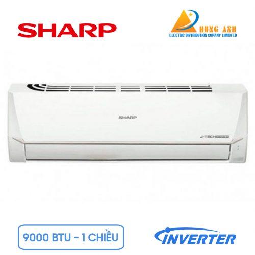 dieu-hoa-sharp-inverter-1-chieu-9000-btu-ah-x9vew-chinh-hang