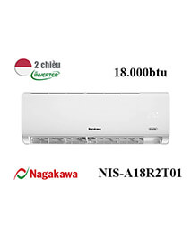 Điều Hoà Nagakawa NIS-A18R2T01 18000btu 2 Chiều Inverter