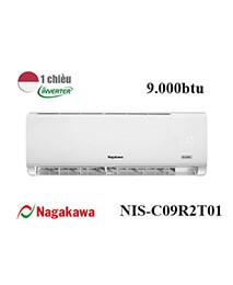 Điều Hoà Nagakawa NIS-C09R2T01 9000btu 1 Chiều Inverter