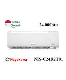 Điều Hoà Nagakawa NIS-C24R2T01 24000btu 1 Chiều Inverter