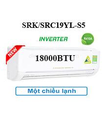 Điều Hoà Mitshubishi SRK/SRC19YL-S5 1 Chiều Treo Tường Inverter
