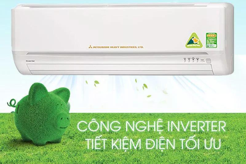 Điều hoà Mitshubishi Inverter 1 chiều 9000 BTU SRK/SRC10YL-S5 Công nghệ inverter