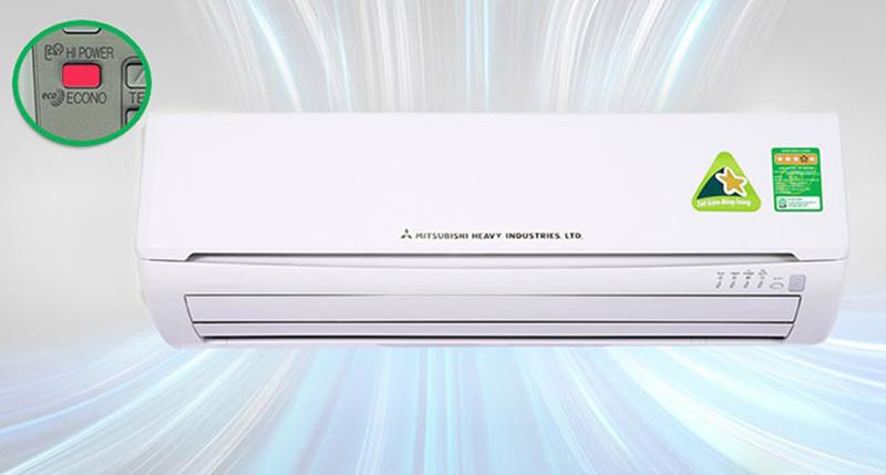 Điều hoà Mitsubishi 1 chiều 9000 BTU SRK/SRC09CTR-S5 Làm lạnh nhanh chóng với Hi Power
