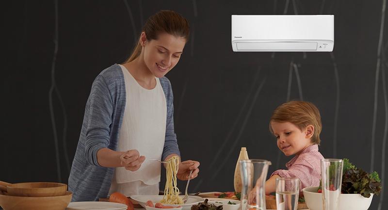 Điều hòa Panasonic Inverter 1 chiều 9040 BTU CU/CS-XPU9WKH-8 Không gian thoải mái và sạch hơn cho những người thân yêu