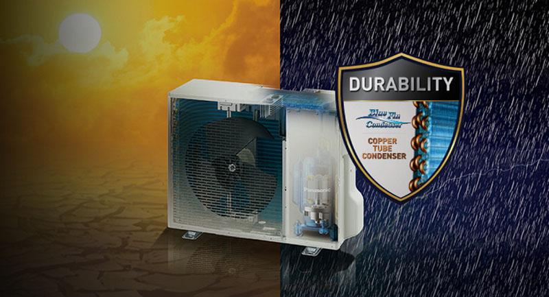 Điều hòa Panasonic Inverter 1 chiều 9040 BTU CU/CS-XPU9WKH-8 Theo đuổi chất lượng và độ bền cao nhất