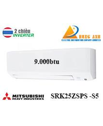 Điều Hoà Mitsubishi Heavy SRK25ZSPS-S5 9000btu 2 chiều inverter
