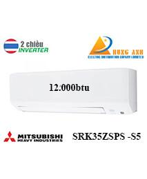 Điều Hoà Mitsubishi Heavy SRK35ZSPS-S5 12000btu 2 chiều inverter