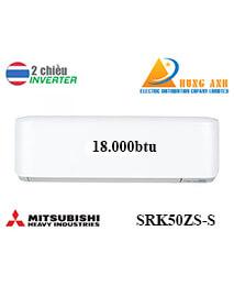 Điều Hoà Mitsubishi Heavy SRK50ZS-S 2 Chiều Inverter Siêu Sang Trọng